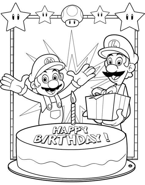 happy birthday sofia coloring pages sta disegno di super mario buon compleanno da colorare