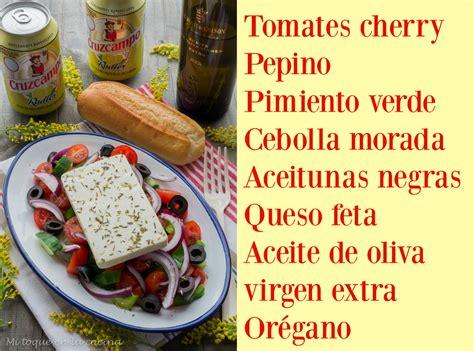 5 ingredientes 5 ingredients 8416895392 mi toque en la cocina