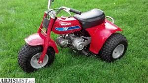 Honda 3 Wheeler For Sale Armslist For Sale 1982 Honda 70cc 3 Wheelers