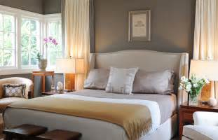taupe paint color transitional bedroom benjamin sparrow brian dittmar design