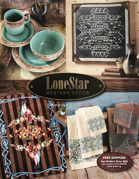 home decor catalog request request a free lonestar western decor catalog