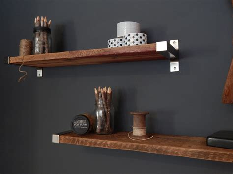 reclaimed barn wood shelves 7 5 depth salvaged barn wood shelving with modern metal