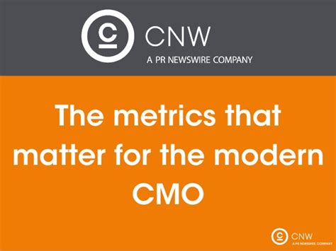 metrics matter what metrics matter for a modern day cmo