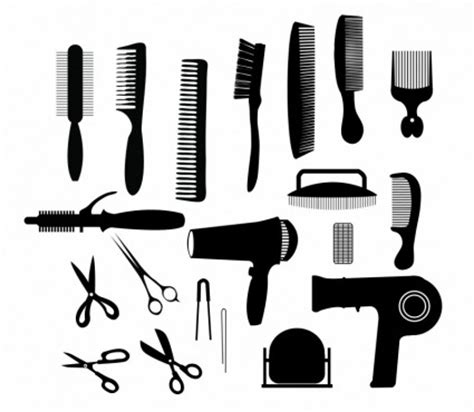 Twist Hairstyle Tools Clipart by Hair Cutting Tools Scissors Hair Accessories Barber