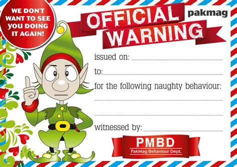 printable elf on the shelf warning letter pakmag official warning elf letter pakmag elf on the