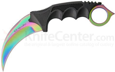 Kitchen Knives To Go United Cutlery Honshu Karambit 4 Quot Rainbow Blade Shoulder