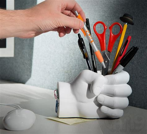 How To Make A Paper Clip Magnetic - pen holder with paper clip magnet
