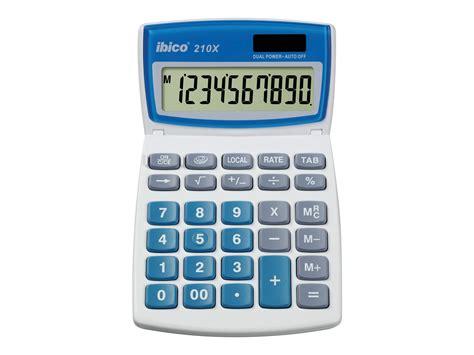 calculatrice de bureau rexel ibico 210x calculatrice de bureau calculatrices
