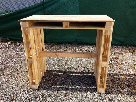 diy pallet desk diy pallet desk with style shelves