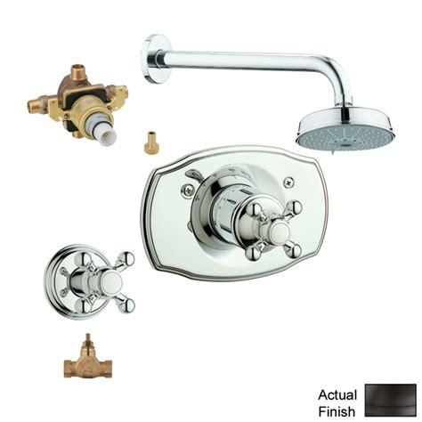 grohe 46310000 fixing set unfinish 2 handle shower faucet vinnata kohler faucet adler 2 handle 1 spray tub and shower marvellous
