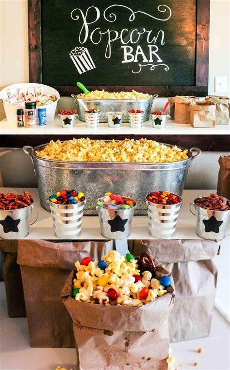 party themes bar ultimate popcorn bar popcorn bar popcorn and bar