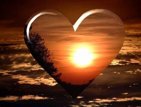 imagenes god love you image d amour coeur romantique coucher de soleil