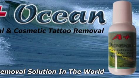 tattoo removal using saline solution permanent cosmetic removal removal safe and