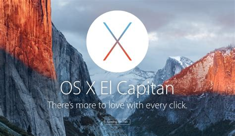 apple os x el capitan so much goes on with every click