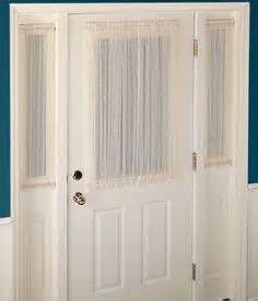 Sheers For French Doors - door window treatments on pinterest sidelight curtains curtains and front doors