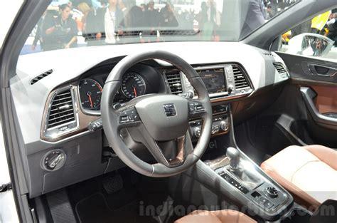seat ateca interior seat ateca interior at the geneva motor show live indian