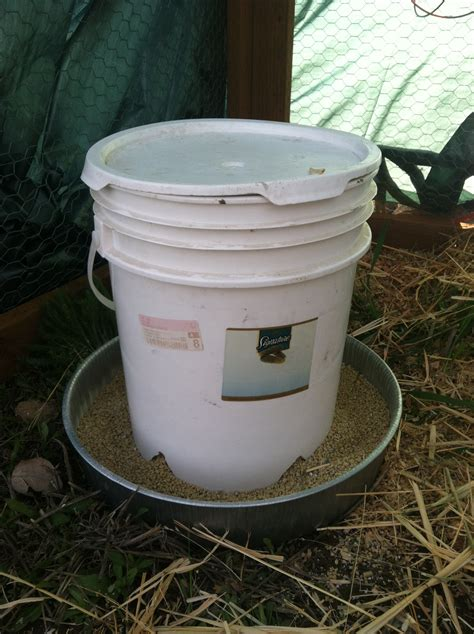 How To Make A Chicken Feeder how to simple diy chicken feeder and waterer american preppers network american preppers