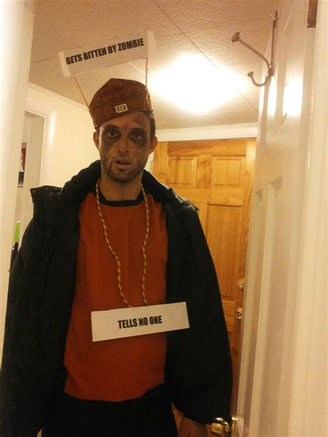 Meme Costume - scumbag steve zombie 67 wildly creative diy costumes for