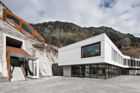 cantonale grigione nuova mediateca e mensa come centro della scuola cantonale