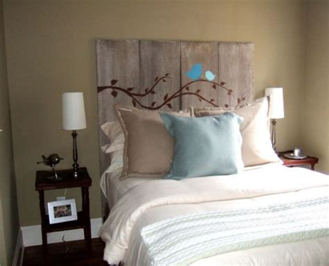 Simple Headboard by 62 Diy Cool Headboard Ideas Beautyharmonylife
