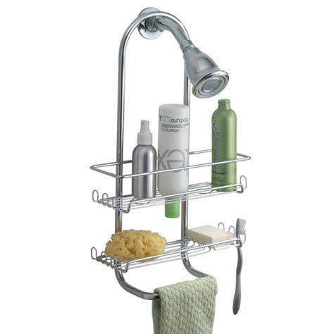 Hanging Bathroom Shower Caddy Classico Hanging Shower Caddy Chrome In Shower Caddies
