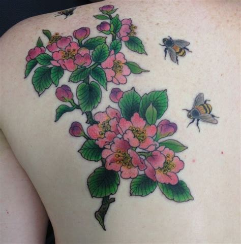 apple blossom tattoo designs apple blossom branch www imgkid the image