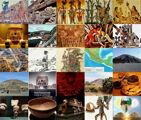 imagenes de olmecas y zapotecas cultura teotihuacana