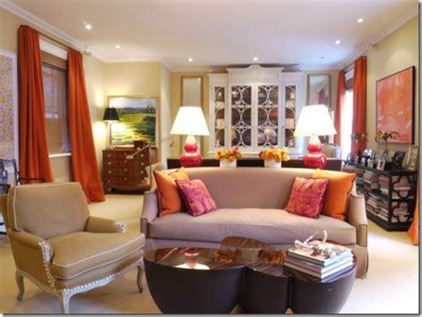 yellow orange living room color of the year 2012 tangerine design dazzle
