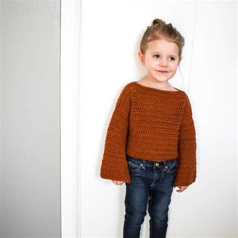 sweater design maker how to make a simple modern crochet toddler sweater
