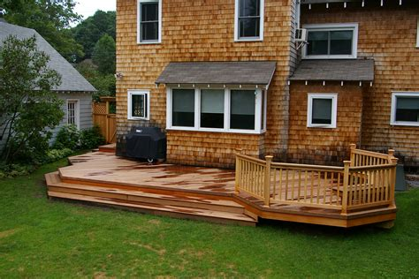 Images Of Backyard Decks by Deck Ideas On Decks Backyard Decks And Wood Decks