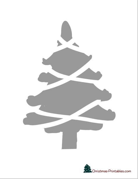 christmas tree 18 in stencil 39 best images about free printable stencils on free printable alphabet letters