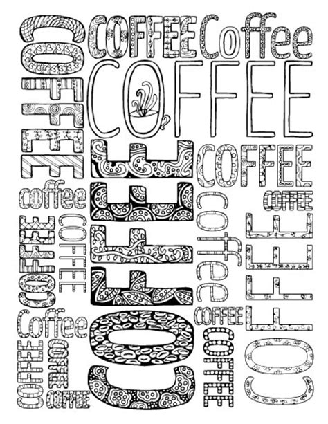 coloring pages for adults coffee adult coloring pages for coffee lovers moms and crafters