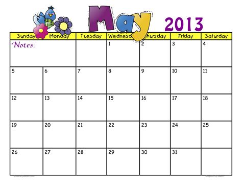 free cute june 2013 calendar templates 2013 search