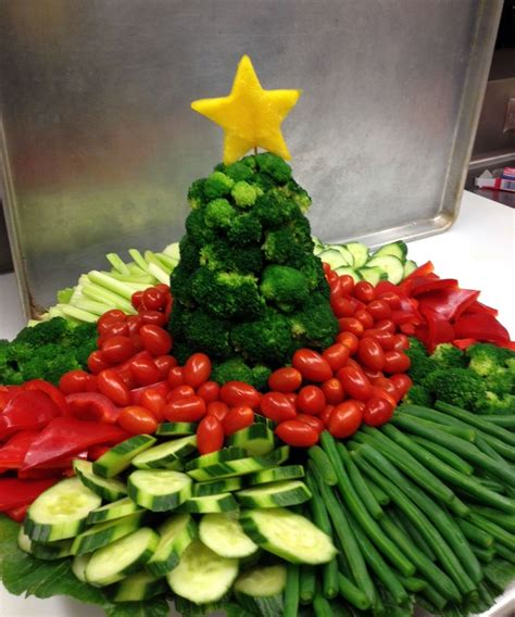 images of christmas vegetable trays veggie tray for farmer s market party christmas