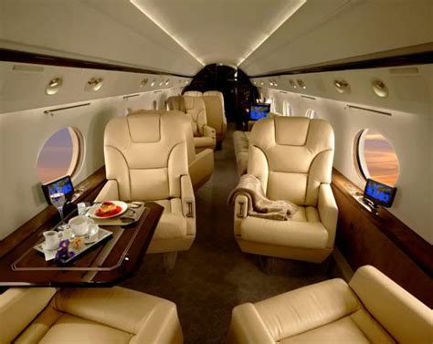 Large Cabin Floor Plans by Gulfstream G200 Super Midsize Jet For Charter Flights