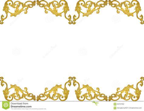 gold pattern border old antique gold frame stucco walls greek culture roman