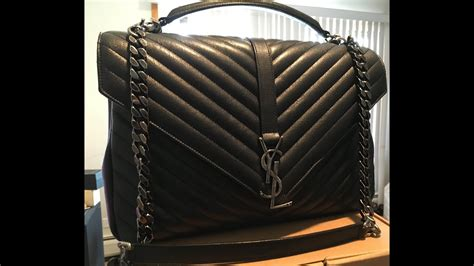 ysl college bag review   fits  youtube