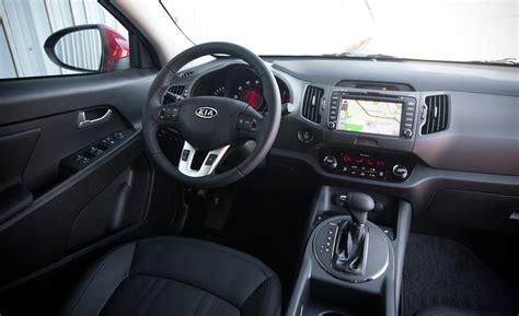 Sportage Kia Interior Car And Driver