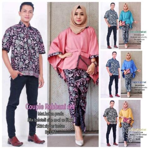 Termurah Set Rabbani by Batik Kebaya Modern Rabbani Set Batik