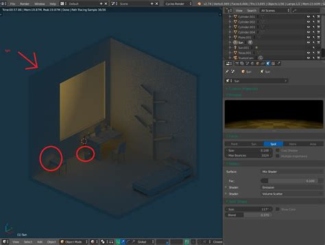 Blender Hello cycles light pass the wall blender stack exchange