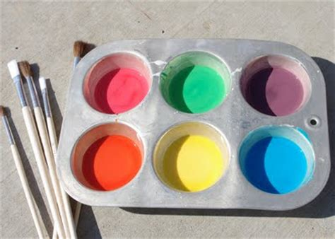 diy chalk paint recipe cornstarch frugal and summer activities part 3 saving cent by