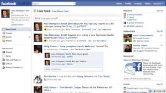 10 screenshots of the old facebook designs