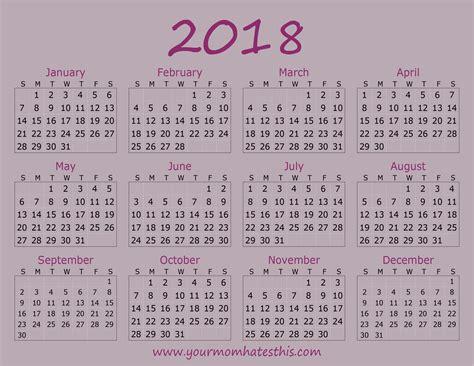 make 2018 calendar 2018 calendar quality calendars