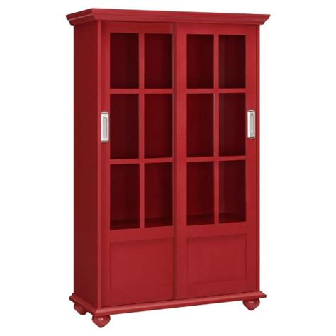 target bookcase with doors aaron bookcase with sliding glass doors altra
