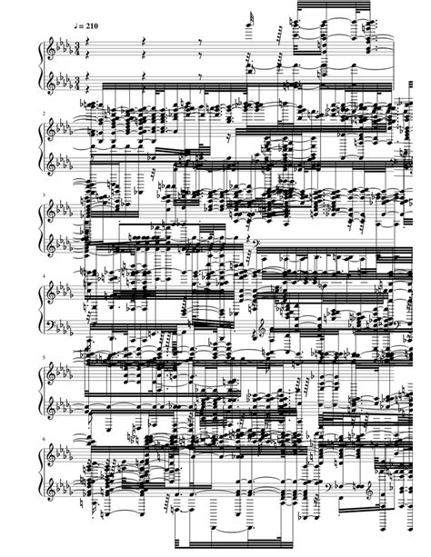Your Best Nightmare Sheet music for Piano | Download free