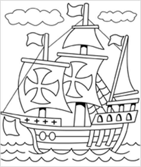 mayflower coloring page free printable mayflower coloring pages