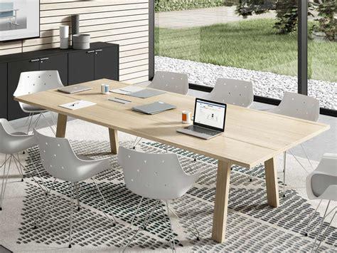 table de r 233 union trendwood pieds bois table travail bois