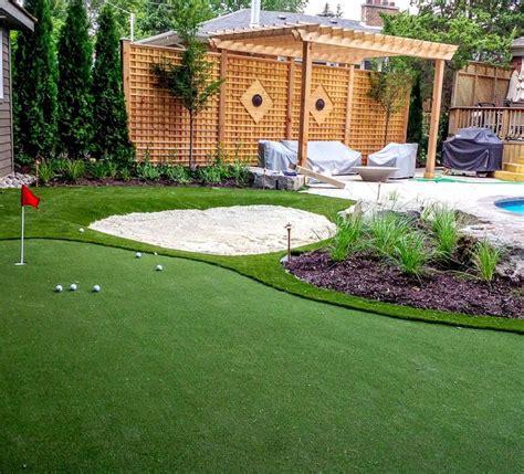 put grass in backyard best 25 backyard putting green ideas on pinterest golf