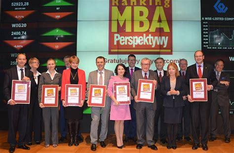 Mba Studia Ranking by Zwycięzcy Rankingu Mba Perspektywy 2014 Na Giełdzie