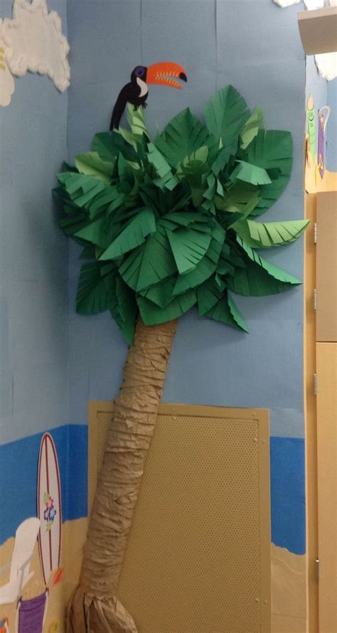 Palm Tree Justice Essay by Paper Palm Tree For The School Bulletin Board Tropical Theme Bulletin Boards